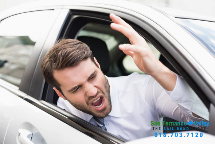 road- rage laws san fernando valley bail bonds